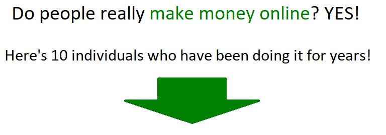 人們在網上賺錢嗎?