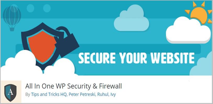 一體化WP安全和防火牆