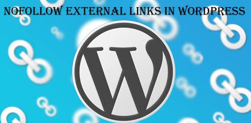 WordPress中的NoFollow外部鏈接