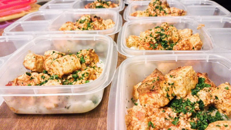 Meal Prep Cooking Containers