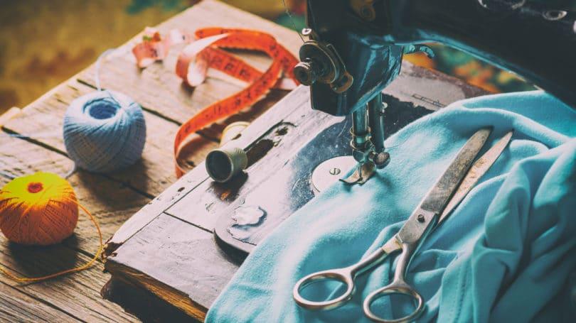 Sewing Machine Scissors String